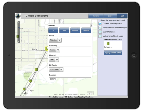 Mobile, Desktop & Web Collaboration in ArcGIS Online