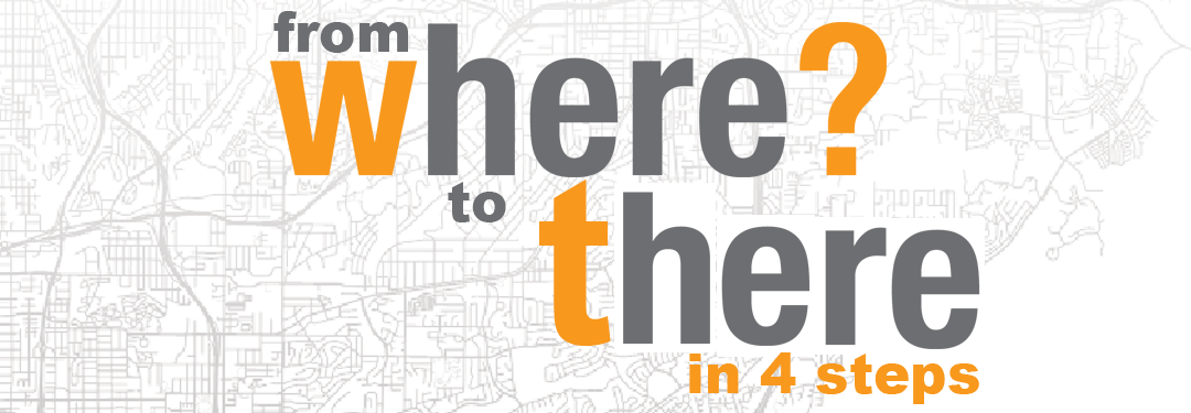 """From WHERE to There"" in 4 GIS Steps"